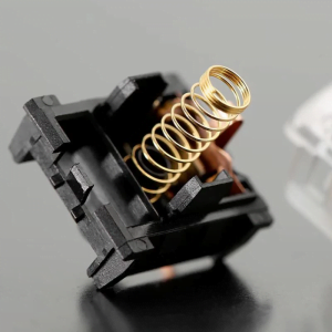 Custom Gold Spring Mechanical Switch